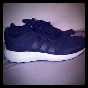 Adidas Leopard print tennis shoes